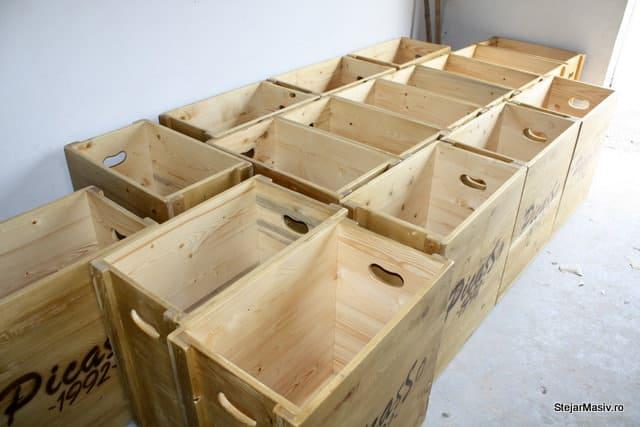 cutii din lemn pentru Picasso
