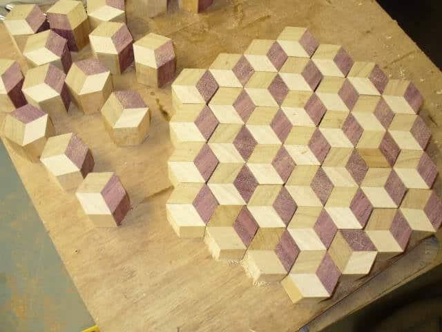 model hexagonal