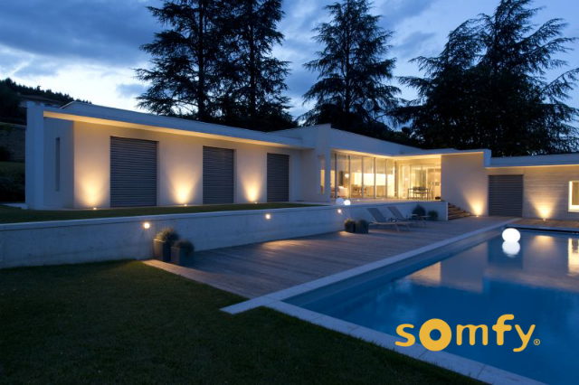 Somfy Romania -casa inteligenta