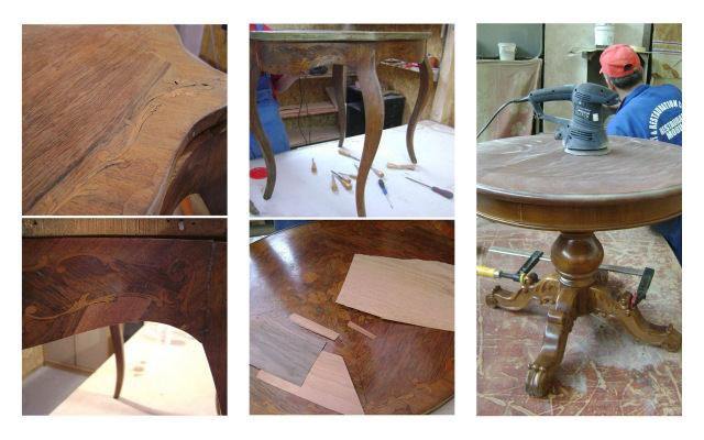 recondiționarea mobilei și restaurare mobila veche