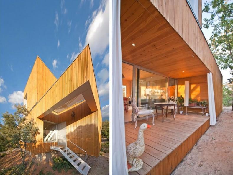 casa ecologică fara fundatie