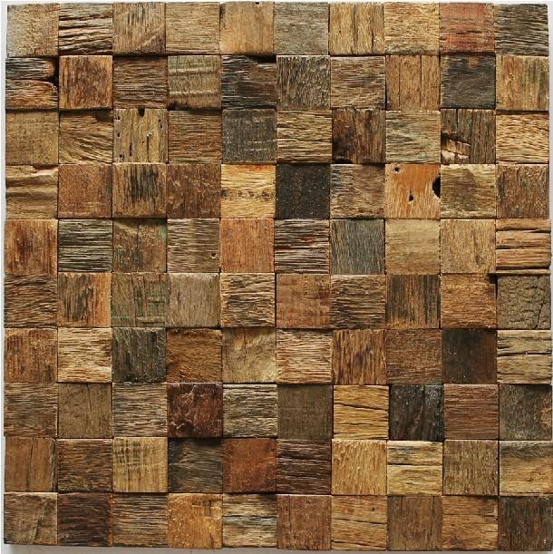 mozaic din lemn
