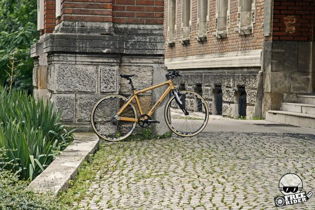 fabricat in Romania - Bicicleta de lemn