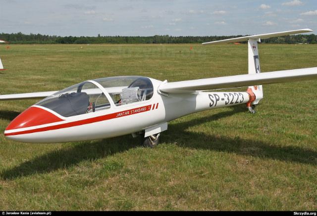 pilot de planor - IS 28 B2