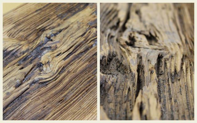 lemn vechi - Sablarea lemnului