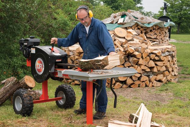 utilaje pentru spart lemne de foc