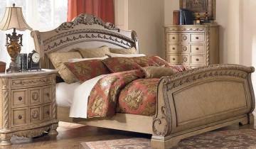 Dormitoare elegante în stilul vintage