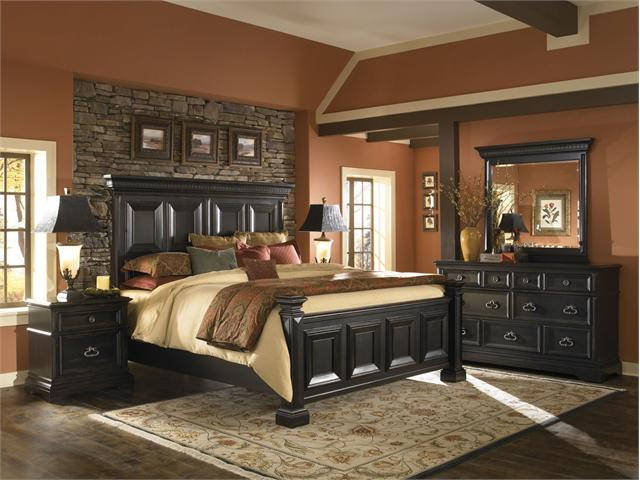 mobila din lemn masiv de dormitor