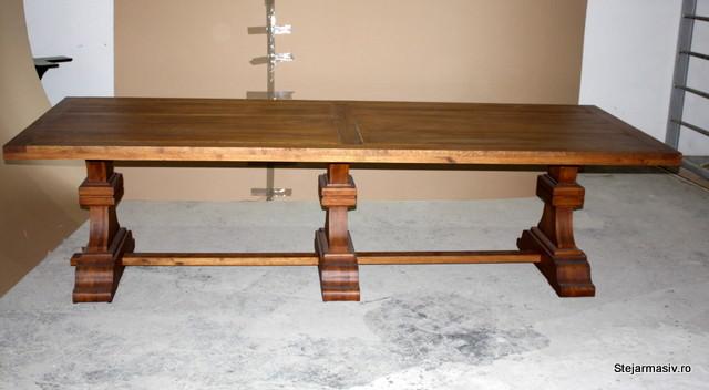 mobila din lemn masiv - Masa Britain lunga