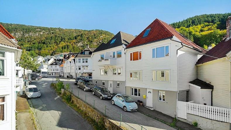 case din lemn din Bergen Norvegia