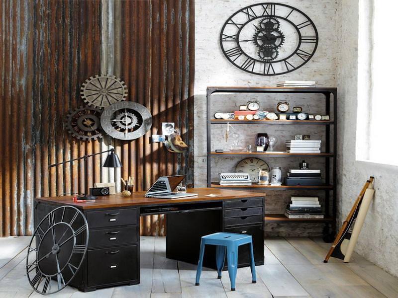 rustic industrial vintage