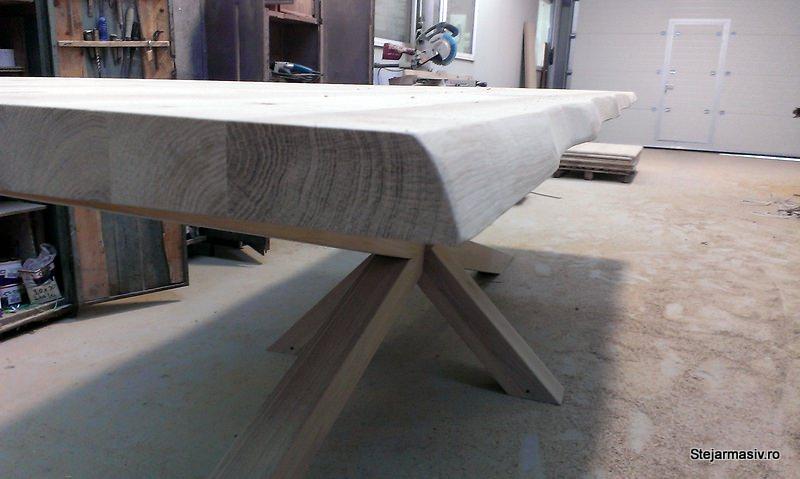 masa fixa Kraken din lemn masiv