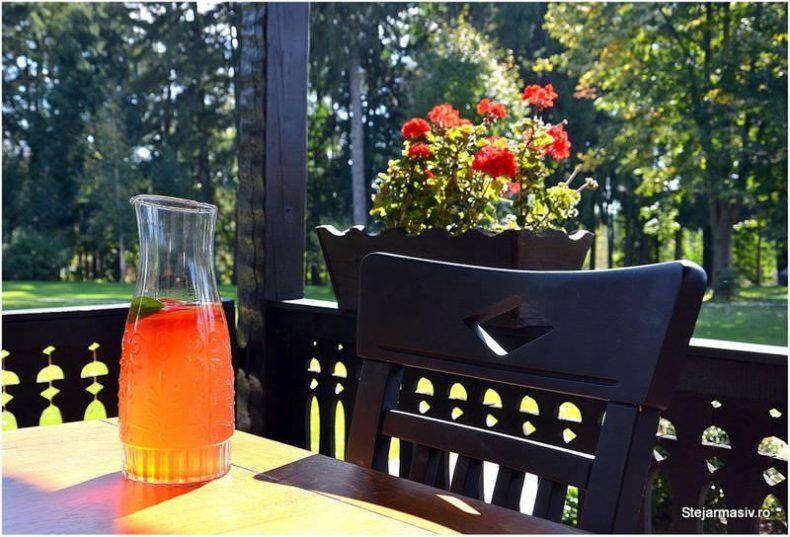 conacul Maldar - scaun din stejar Dijon