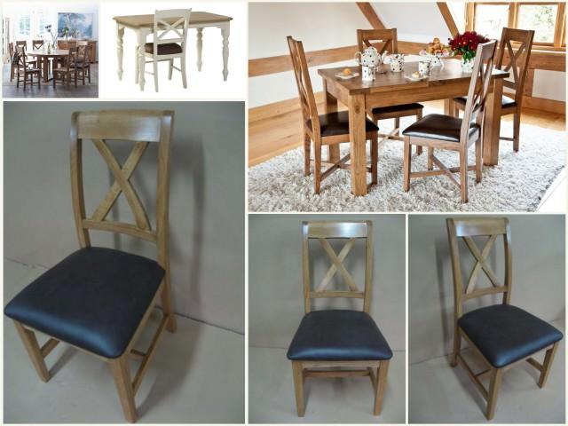 scaune cu spătar în cruce