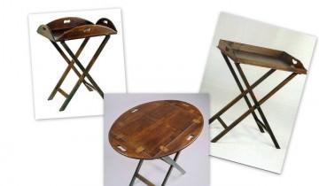 Piese de mic mobilier fabricate de demult