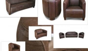 Setul de fotolii si canapea din colectia K