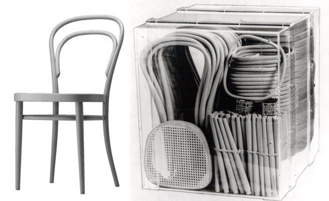 scaunul Thonet