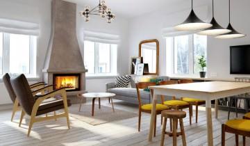 Design rusesc pentru un duplex elegant în Moscova