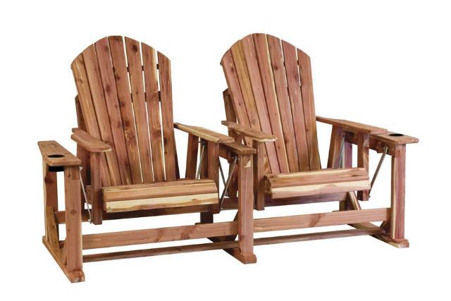 scaune pentru terasa din lemn