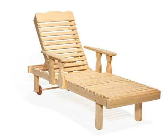 scaun de terasa din lemn
