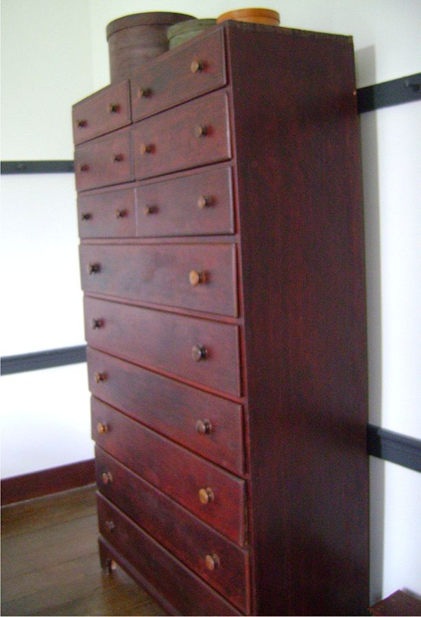 mobila din lemn masiv Shaker