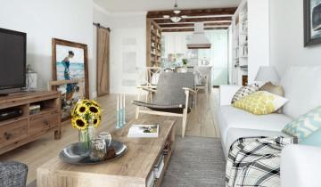 Design de apartament în stil retro și vintage