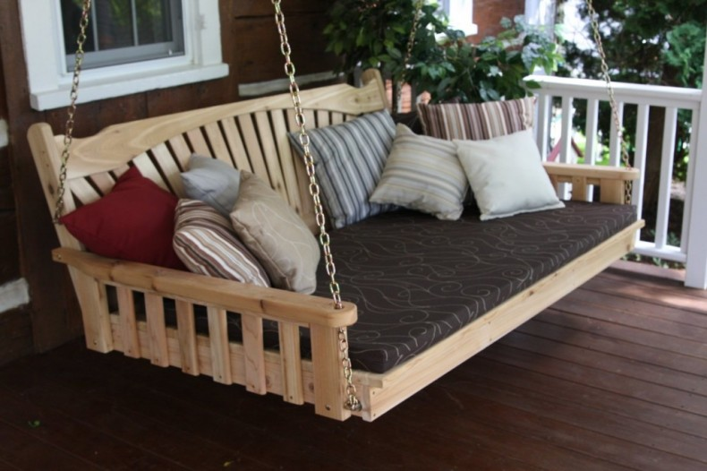 pat suspendat pentru terasa