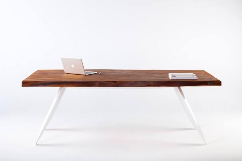 masa din lemn de Kauri vechi