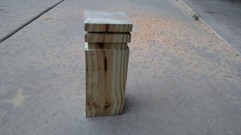 Kubb fabricat de Adrian Boloveschi