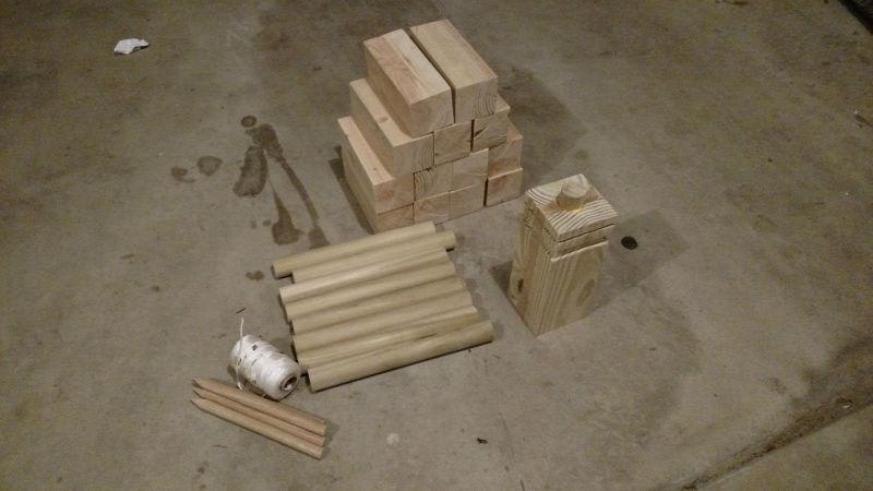 fabricarea pieselor de lemn pentru jocul Kubb (6)