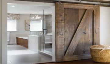 Design interior cu usi glisante de hambar