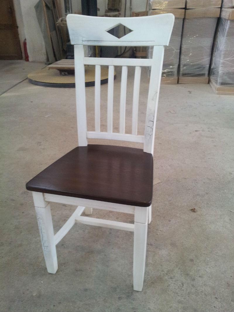 scaun stejar Dijon cu finisaj vintage antichizat
