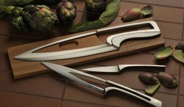 Set de cuțite DEGLON pe bază de stejar