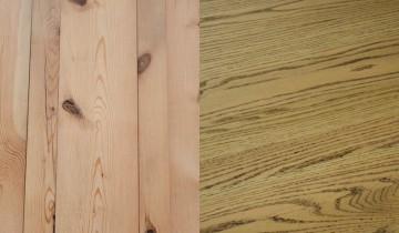 Brad sau stejar pentru mobila din casa ta?