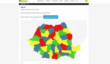 Harta pentru Romania cu mesteri, ateliere si designeri/arhitecti