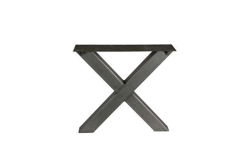 Picioare X din metal