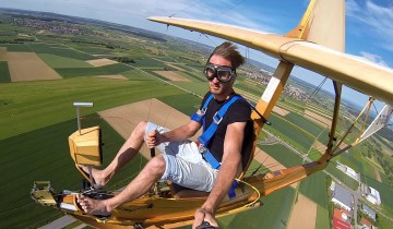Planor din lemn – visul de-a zbura