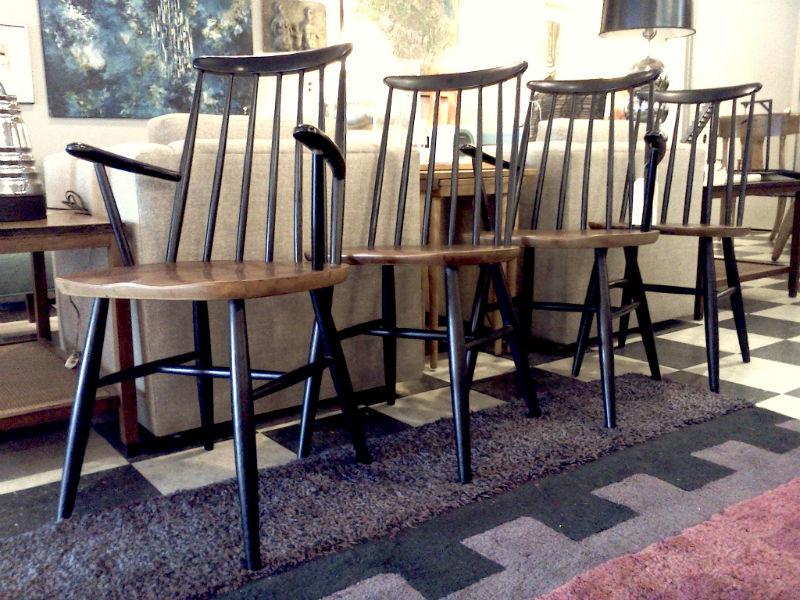 aranjament cu scaune Windsor