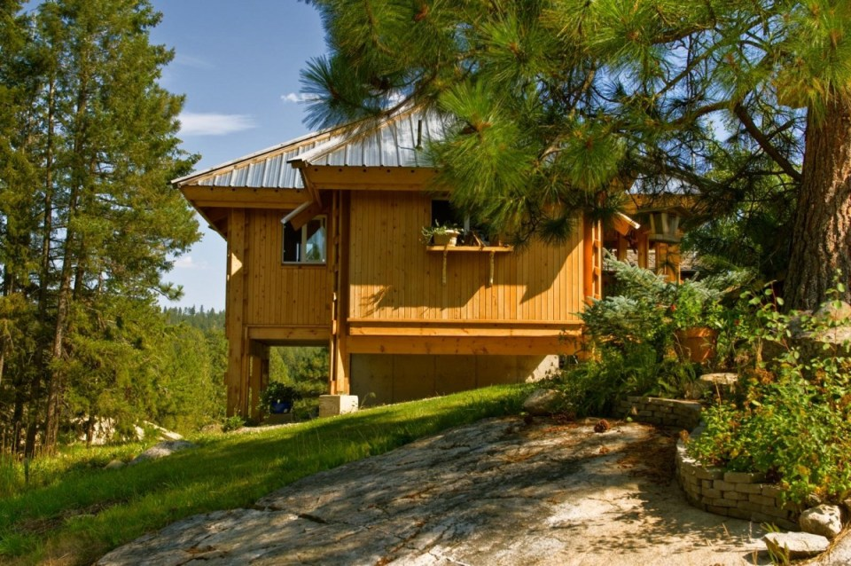 casa din lemn Quietude
