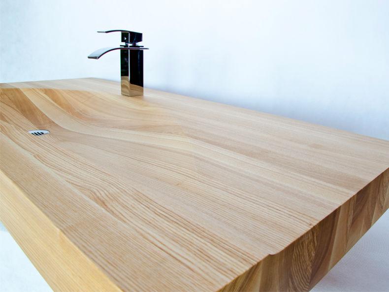 chiuvete din lemn