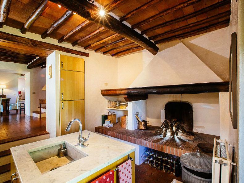 Grinzi din lemn brut - Toscana