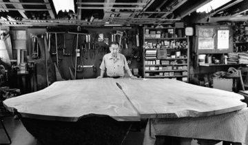 George Nakashima – omul cu viața dedicata lemnului și tamplariei