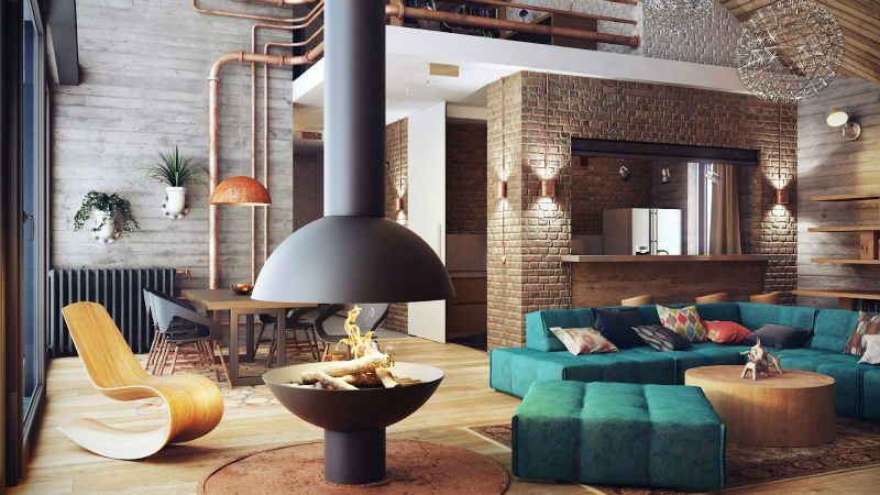 decor steampunk