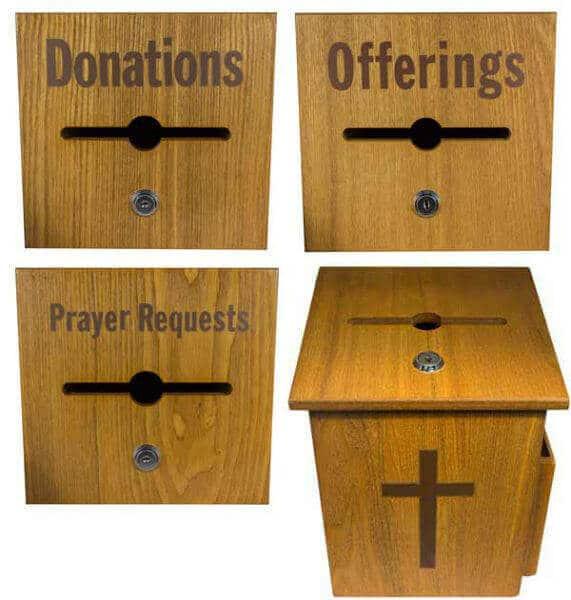caritate - cutie pentru donatii
