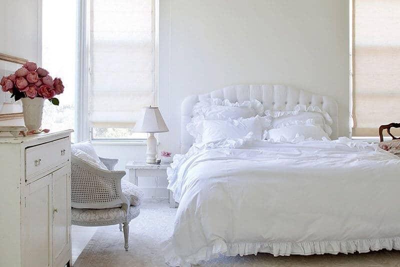 Dormitor Alb Liniștitor și Neutru Vă 238 Ncumetați