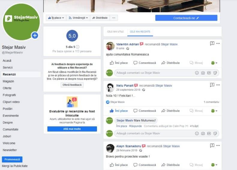 Facebook rating 2020 review 1 stea