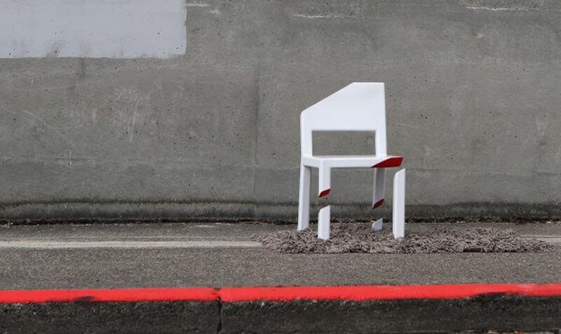 the cut chair