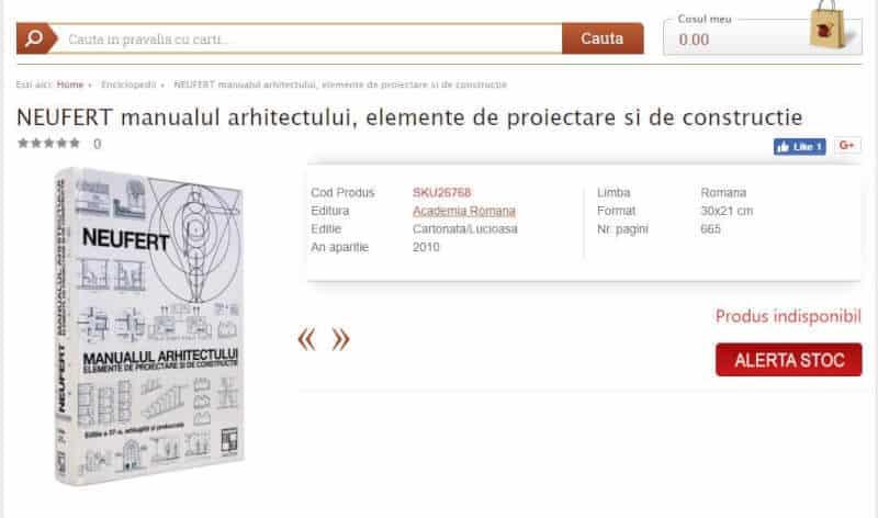 Manualul Arhitectului - editia in limba romana
