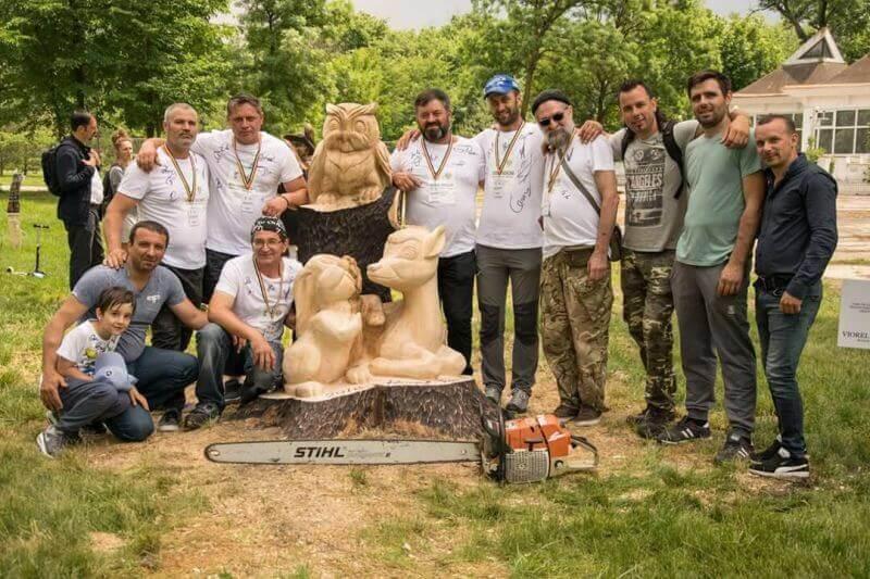 Festivalul sculptorilor cu drujba