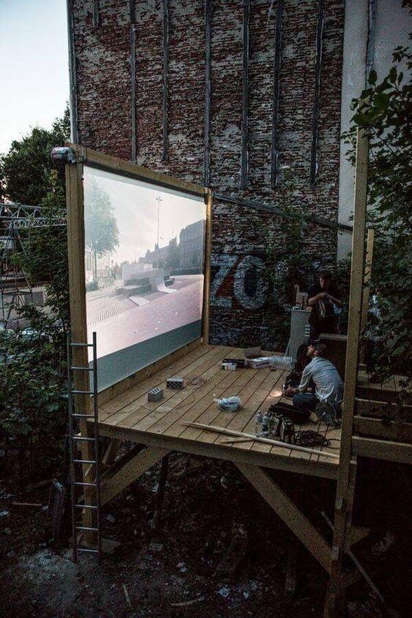 filme în aer liber